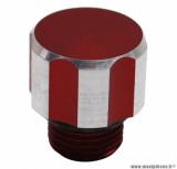 Bouchon d'huile rouge Replay pour moteur 50 a boite derbi senda, gpr