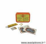 Kit réparation (rustines + tube dissolution) pour cyclomoteur *Prix spécial !