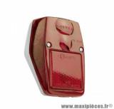 Feu arrière Tun'r chrome / rouge pour cyclo 103