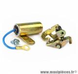 Rupteur + condensateur standard pour peugeot