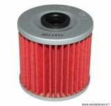 Filtre à huile Hiflofiltro HF123 (55x57mm) pièce pour Moto : KAWASAKI 600 KL, 650 KLR, KLX