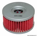 Filtre à huile Hiflofiltro HF136 (60x33mm) pièce pour Moto : SUZUKI 250 DR, INTRUDER, 350 DR