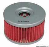 Filtre à huile Hiflofiltro HF137 (60x37mm) pièce pour Moto : SUZUKI DR 500, DR 600, DR 650, DR 800
