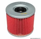 Filtre à huile Hiflofiltro HF133 (72x64mm) pièce pour Moto : SUZUKI GS 650, GS 750, GS 850, GS 1000, GS 1100