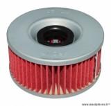 Filtre à huile Hiflofiltro HF144 (76x41mm) pièce pour Moto : YAMAHA FZ 600, FZR 600, XJ 600, XJ 650, XJ 750, XJ 900