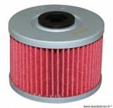 Filtre à huile Hiflofiltro HF112 (50x38mm) pièce pour Moto : HONDA 250 XLR, 250 XR R, 400 XR R, 600 XR R, 650 XR R, 650 DOMINATOR-KAWASAKI 250 KLX, 450 KLX R