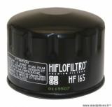 Filtre à huile Hiflofiltro HF165 (76x57mm) pièce pour Moto : BMW 800 F ST