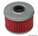 Filtre à huile Hiflofiltro HF113 (50x38mm) pièce pour Moto : HONDA 125 VARADERO 2001>