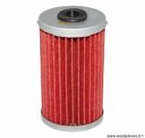 Filtre à huile Hiflofiltro HF169 (38x67mm) pièce pour Moto : DAELIM 125 ROADWIN 2004>, DAYSTAR 2000>