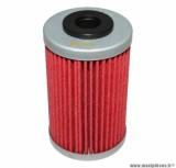 Filtre à huile Hiflofiltro HF155 (41x69mm) pièce pour Moto : KTM 125 DUKE, 640 DUKE, 250 EXC, 400 SX