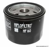 Filtre à huile Hiflofiltro HF160 (76x62mm) pièce pour Moto : BMW F 650 GS, F 800 GS, K 1200 RS, K 1300 R, S 1000 RR-HUSQVARNA 900 NUDA