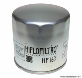 Filtre à huile Hiflofiltro HF163 (76x79mm) pièce pour Moto : BMW K75, K 100 LT, K 1200 GT, R 1100 S, R 1150 GS, R 850 RT