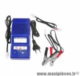 Chargeur et maintien de batterie acsa 12v 0.9a pièce pour Scooter, Mécaboite, Maxi Scooter, Moto, Quad