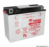 Batterie 12v 20ah y50n18l-a yuasa avec entretien (lg205xl90xh162) pièce pour Scooter, Mécaboite, Maxi Scooter, Moto, Quad