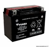 Batterie 12v 13ah ytx15l-bs yuasa sans entretien (lg175x87x130) pièce pour Scooter, Mécaboite, Maxi Scooter, Moto, Quad
