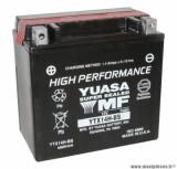 Batterie 12v 12ah ytx14h-bs yuasa sans entretien haute performance livree avec pack acide (lg150x87x145) pièce pour Scooter, Mécaboite, Maxi Scooter, Moto, Quad