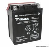 Batterie 12v 12ah ytx14ah-bs yuasa sans entretien haute performance livree avec pack acide (lg134x89x166) pièce pour Scooter, Mécaboite, Maxi Scooter, Moto, Quad