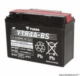 Batterie 12v 2,3ah ytr4a-bs yuasa sans entretien livree avec pack acide (lg114xl49xh86) pièce pour Scooter, Mécaboite, Maxi Scooter, Moto, Quad
