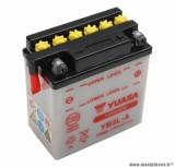 Batterie 12v 3 ah yb3l-a yuasa avec entretien (lg98xl56xh110) pièce pour Scooter, Mécaboite, Maxi Scooter, Moto, Quad