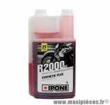 Huile Ipone 2 temps r2000 rs semi-synthèse vendu en 1L pièce pour Scooter, Mécaboite, Mobylette, Moto, Quad, Maxi Scooter