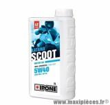 Huile Ipone 4 temps katana scoot 5w40 100% synthèse vendu en 2L pièce pour Scooter, Moto, Quad, Maxi Scooter
