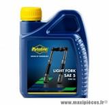 Huile fourche Putoline light sae 5 minérale vendu en 500ml pièce pour Scooter, Mécaboite, Mobylette, Maxi Scooter, Moto