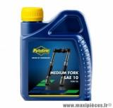 Huile fourche Putoline medium sae 10 minérale vendu en 500ml pièce pour Scooter, Mécaboite, Mobylette, Maxi Scooter, Moto