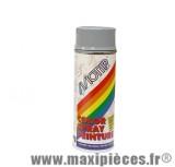 Bombe peinture motip glycero gris brillant (400ml)
