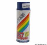 Bombe peinture glycero marine brillant (400ml)