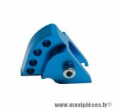 Réhausse amortisseur bleu (4 positions) pour scooter mbk booster / yamaha bws 1999>2003