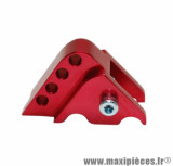 Réhausse amortisseur rouge (4 positions) pour scooter mbk booster après 2004, nitro, ovetto / yamaha bws après 2004 aerox, neos