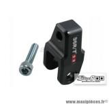 Réhausseur d'amortisseur CNC +40mm Stage 6 couleur Noir pour MBK Booster / Nitro homologué *Prix spécial !