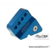 Réhausseur d'amortisseur «SSP» Stage 6 couleur bleu anodisé pour MBK Booster / Stunt