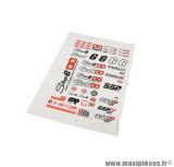 Grande planche d'autocollants/stickers Stage 6 «SSP»