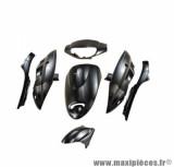 Kit carrosserie (7 pièces) Tun'r noir pour scooter chinois