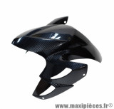 Garde boue avant carbone pour scooter mbk yamaha booster ng / rocket