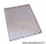 Grille protection décoration blanc (29x35)