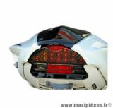 Feu arrière fumé Tun'r à leds homologué clignotant intégré pour scooter nitro / magnum / rs50 / cpi