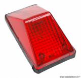 Feu arrière universel Replay XR type enduro rouge