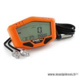 Compteur digital Stage 6 R/T multifonctions couleur orange