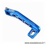 Kick démarrage Tun'r lighty alu bleu pour scooter booster / bw's 1999-> / nitro / aerox