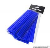Kit couvre rayon avant arrière Voca Spokes couleur bleu