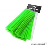 Kit couvre rayon avant arrière Voca Spokes couleur vert