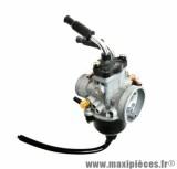 Carburateur dellorto phvb 22 cd (montage souple - avec graissage - starter a cable) (ref 1156) pièce pour Scooter, Mécaboite, Mobylette, Maxi Scooter, Moto, Quad