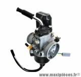 Carburateur dellorto phvb 22 cd (montage souple - avec graissage - pour starter auto) (ref 1153) pièce pour Scooter, Mécaboite, Mobylette, Maxi Scooter, Moto, Quad