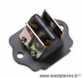 Clapet scooter Top Perf carbone pour Piaggio 50 zip, Typhoon, nrg / gilera 50 stalker, runner, dna, ice