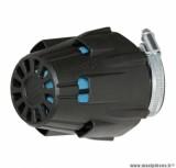 Filtre a air polini blue air box phbh noir fixation coudee 30° diametre: 46 (203.0097) pièce pour Scooter, Mécaboite, Mobylette, Maxi Scooter, Moto, Quad