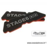 Prix Spécial ! Mousse de filtre à air d'origine marque Stage 6 «Double Sponge» origine pour Piaggio NRG / Typhoon après 1998