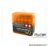 Kit assortiment de 10 gicleurs 70 - 92 (diamètre 5mm) Stage 6 pour carburateur Dell'orto *prix spécial !