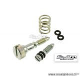 Kit vis de ralenti pour carburateur Dellorto type VHST (24/26/28mm) - Stage 6 R/T